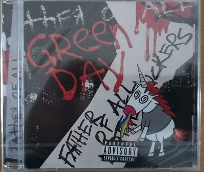 Green Day Cd Album 'Father Of All M********S'-Brand New & Sealed