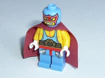 Lego Super Wrestler Collectible Minifigure Series 1 Col010 Genuine Rare
