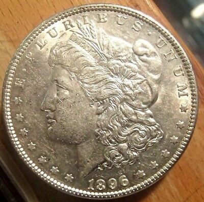 1896 Morgan Silver Dollar Nice High Grade Circulated Coin #1