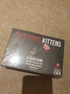 GENUINE Exploding Kittens Card Game Original Edition - Brand New & Sealed