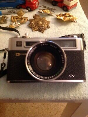 Yashica Electro 35 Gs Camera With Case