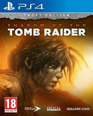 Shadow of the Tomb Raider: Croft Edition (PS4) New & Sealed In Stock Now UK PAL