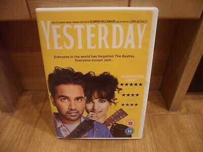 Yesterday (DVD, 2019)