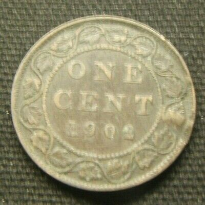 1902 ~~ Canada ~~ Large One Cent Coin ~~ Better Date