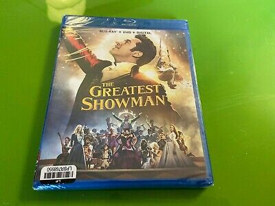 The Greatest Showman (Blu-ray/DVD, 2018, Includes Digital Copy) FREE SHIPPING