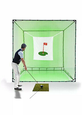 Galileo Golf Net Hitting Cage Practice Driving Net High Impact Double Back St...