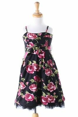 New Flowers By Zoe Roses Dress Size 6X