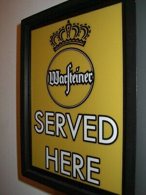 Warsteiner German Bier Beer Bar Man Cave Lighted Advertising Sign