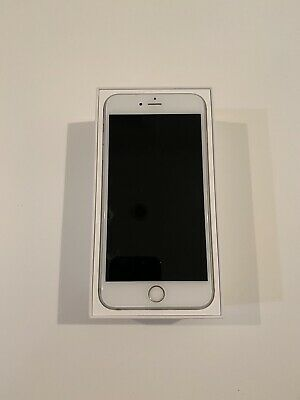 Apple iPhone 6s Plus - 64GB - Silver (Unlocked) Inc. Charger, Earphones And Case