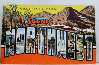 Scenic Northwest Greetings Postcard Old Vintage Card View Standard Souvenir Post