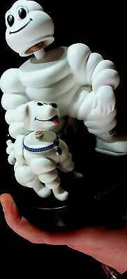 Michelin Man and His Dog Bobbleheads - MIB