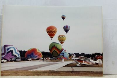 Scenic Hot Air Balloons Postcard Old Vintage Card View Standard Souvenir Postal