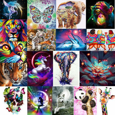 Full Drill DIY 5D Diamond Painting Embroidery Cross Crafts Stitch Kit Decor Gift