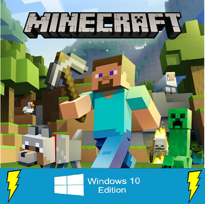 Minecraft Windows 10 Edition Licensed Global Key FAST Delivery Email Worldwide
