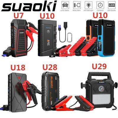 SUAOKI Car Vehicle Truck Jump Starter Pack Engine Booster USB Power Bank 12V AU