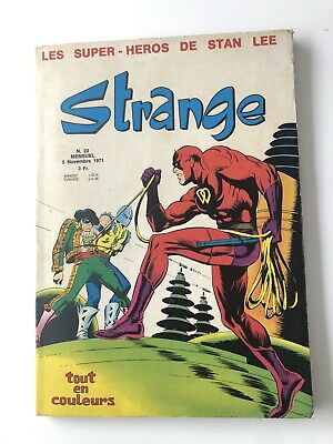 STRANGE N° 23 LUG 1971 EO  TBE voir PHOTOS No FANTASK MARVEL