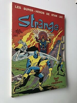 STRANGE N° 26 LUG 1972 TBE EO voir PHOTOS no Marvel FANTASK