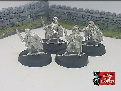 Frodo Sam Merry & Pippin - Metal Fellowship Lord of the Rings Hobbit Warhammer