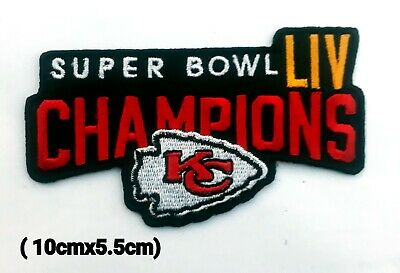 Kansas City Chiefs NFL Logo Patches for iron and sewing on fabric.