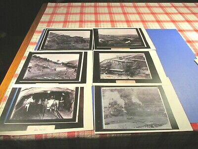 Vintage  Lykens, Pa Mining Pictures (Paper Copies)