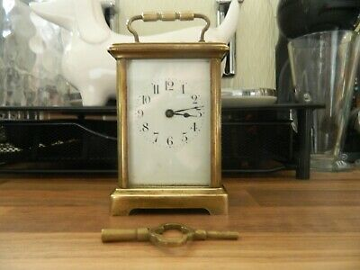 Carriage Clock  With Key Working Spares Repair