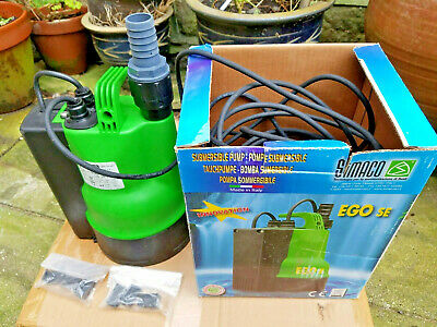 Simaco EGO 500 SE Low Suction Submersible Pump.