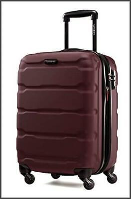 New Samsonite Omni Expandable Hardside Luggage with Spinner Wheels, Purple