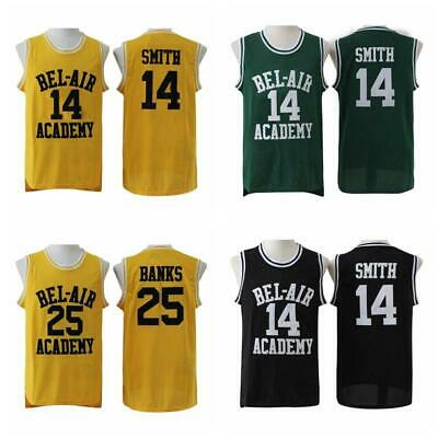 Will Smith #41 The Fresh Prince of Bel-Air Academy Basketball Jersey