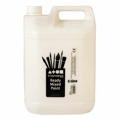 Brian Clegg Ready-mix Paint 5 Litre - White