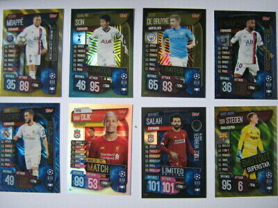 Match Attax Extra 2019/20 Choose special insert cards inc Limited Edition & 100C