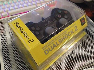 Playstation 2, DUELSHOCK 2, analogue controller, Black, Boxed, (SCPH10010 E )