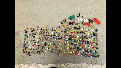 Joblot Of Original Lego Mini Figures Star Wars Harry Pottet Etc Etc And Spares