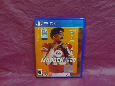 Madden Nfl 20 - Standard Edition (Sony Playstation 4, Ps4, P4, 2019)