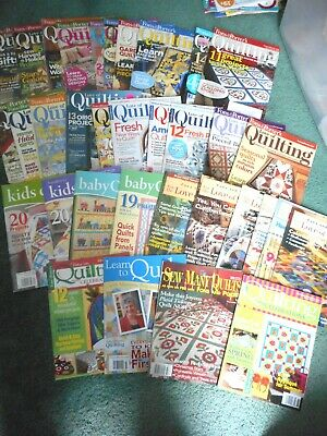 Fons & Porter's Love of Quilting (20), Other titles (14),  total of 34 magazines