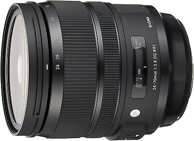 Sigma 24-70mm F2.8 DG OS HSM Lens (filter thread 82 mm) for Nikon lens bayonet