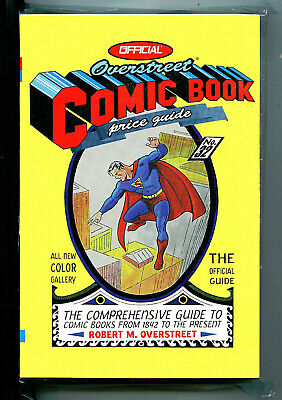 Overstreet Price Guide SC Superman Cover 2002  nm +