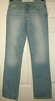 """Ben Sherman Classic Jeans in Light Blue Washed Size 26""""W 32""""L"""