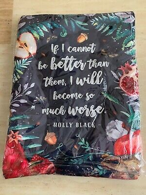 Holly Black Queen of Nothing Woodland Book Sleeve Fairyloot