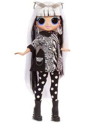Lol Surprise Omg Series 3 Fashion Doll Black Out Light In Hand  Lights Groovy
