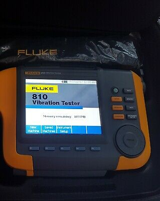 Fluke 810 Vibration Analyser. 2018 model