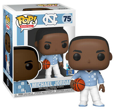 Michael Jordan w/Warm Up (University of North Carolina) Funko Pop! Basketball