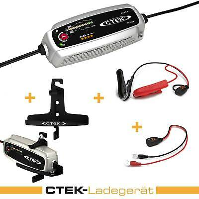 Ctek Mxs 5.0 Set Charger Wall Mount Charging Cable, Holder Wall Mount Adhesive