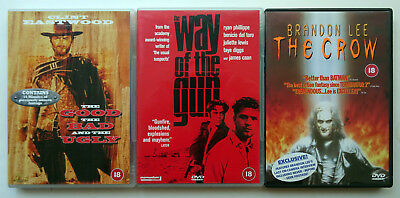 9 DVDs Job Lot, Films, Movies - Gangster and Cult Classic Collection