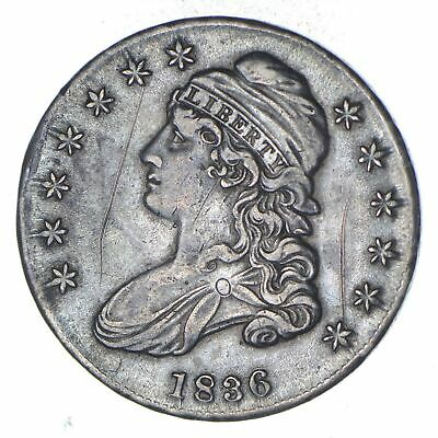 1836 Capped Bust Half Dollar - Circulated *8959