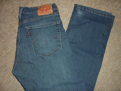 Levi Strauss Levi's 505 Red Tab Blue Jeans Size 33 X 30