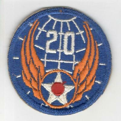 1819 WW 2 US Army 20th Air Force Patch R13A