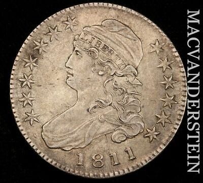 1811 Capped Bust Half Dollar- Almost Uncirculated+/Uncirculated !! #H6760