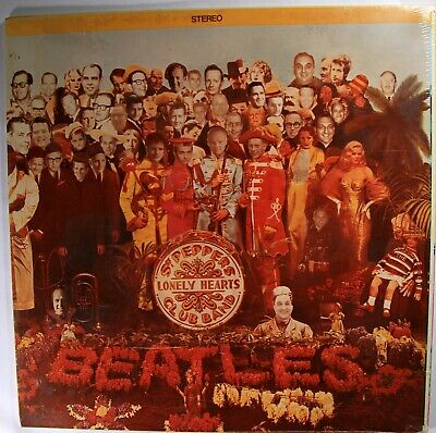 Beatles INSANELY RARE Original 1967 ADAPTED SGT. PEPPER Cover Showing CAPITOL