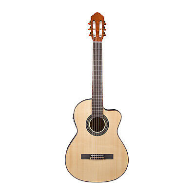 Artist CS180CEQ Solid Spruce Top Classical Guitar with Cutaway + EQ - New