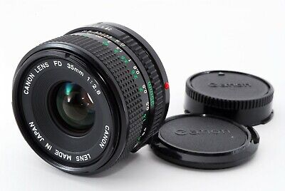 [Near Mint] Canon New FD 35mm f/2.8 MF Wide Angle Lens NFD from Japan 551044